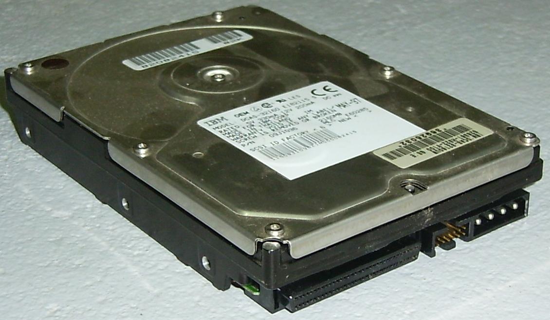 IBM_DCAS-32160-SCSI LaMortaise.com - Ordinateur PC : Bruit=zéro, Chaleur=zéro, Refroidissement au max - Forum LaMortaise.com - La référence en ébénisterie